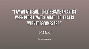 AM an Artist Quotes