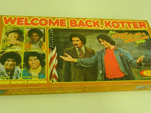 "Welcome Back, Kotter – ""The Up Your Nose With A Rubber Hose Game ..."