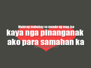 Cute Tagalog Love Quotes