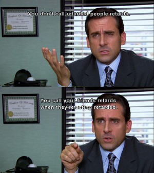 funny, lol, michael scott, office, quote, saying, steve carell, text ...