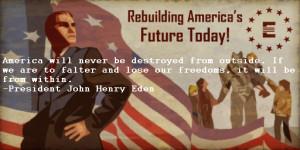 President John Henry Eden motivational inspirational love life quotes ...