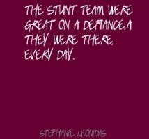 More of quotes gallery for Stephanie Leonidas's quotes