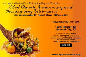 Church Anniversary Themes