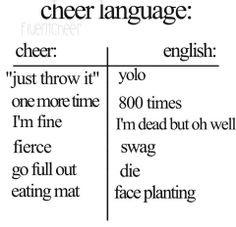My Cheerleaders *\/*