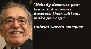 GABRIEL GARCIA MARQUEZ QUOTES SPANISH ENGLISH