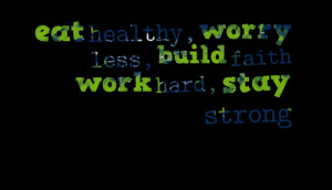Staying Healthy Quotes http://inspirably.com/quotes/by-vinna-panlilio ...