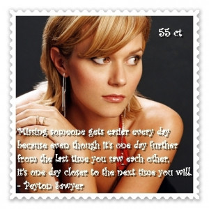 "Peyton Sawyer One Tree Hill Quote height=""560"" width=""500 ..."