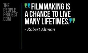 Filmmaking quote