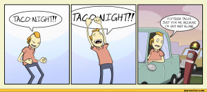 comics,funny comics & strips, cartoons,amazingsuperpowers,taco