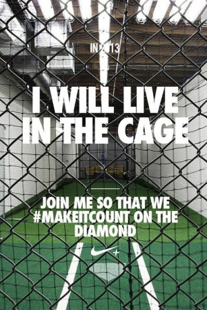 will live in the cage.... Join me so that we #makeitcount on the ...