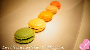 Quotes: Live life in a colorful world of happiness