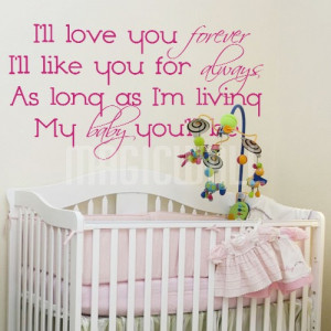 Ill Love You Forever Quotes Quote Image