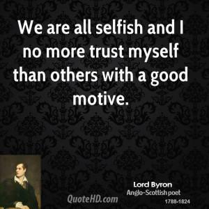 No More Trust Quotes