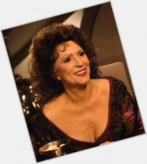Majel Barrett-roddenberry celebrated her 83 yo birthday 4 months ago ...