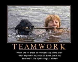 Related Pictures teamwork motivational quotes funny