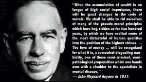 Today's Quotes: John Maynard Keynes and Chuck Palahniuk