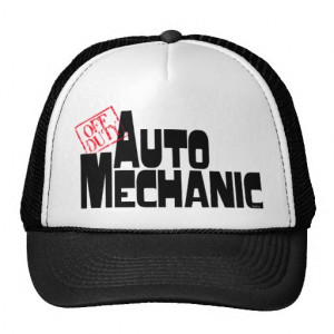 Funny Auto Mechanic Mesh Hats