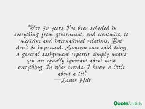 Lester Holt Quotes