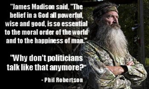 phil robertson quotes | Phil Robertson – A Duck of a Different