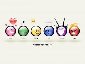 KEEP SMILING Emoticon Wallpaper