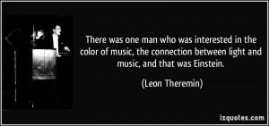 More Leon Theremin Quotes