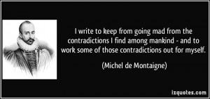 More Michel de Montaigne Quotes