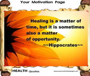 ... quotes #quotes about health, #motivational health quotes #Hippocrates