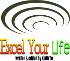 Excel Your Life Newsletter , a monthly email newsletter, with both ...