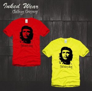 Style Quote Che Guevara T Shirt Cotton Lycra Top Fashion Brand T Shirt