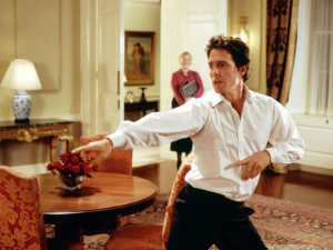 Hugh Grant plays the British prime minister in 'Love Actually.' (Photo ...