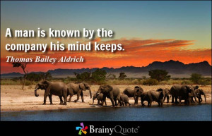 Thomas Bailey Aldrich Quote