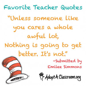 Teacher Quotes!