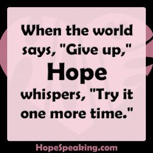 Hope Whispers Pamela Phelps