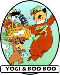 Yogi And Boo Bear Quotes Picnic Basket