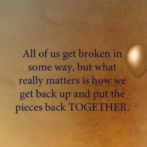 Quote on getting back together after breaking up in Life