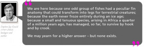 never froze entirely during an ice age; because a small and tenuous ...