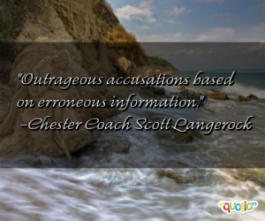 quotes about accusations follow in order of popularity. Be sure to ...