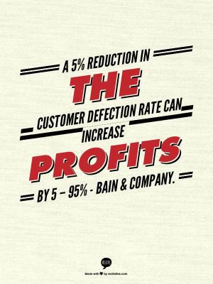 ... Increase Profit, Custom Defect, Service Quotes, Bain Amp, Defect Rate