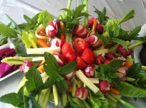 Fresh Vegetables Platter
