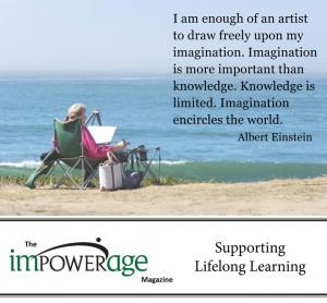 Impowerage- Magazine-Imagination-Education-Quote
