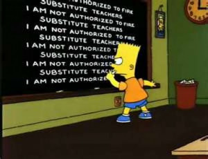 Substitute Teaching and Classroom Management, I Suppose....