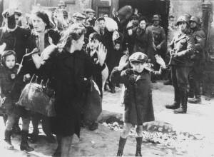 one of the most famous photos taken during the holocaust shows jewish ...