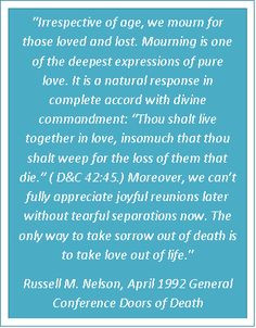 Lds Quotes On Death, Lds Death Quotes, Spirituality Lifting, Quotes ...