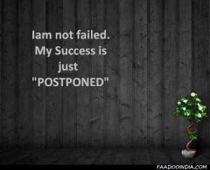 Not Failed