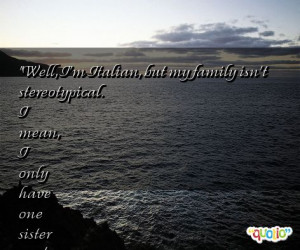 Famous Italian Quotes About Family