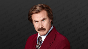 Ron Burgundy and… Dodge?