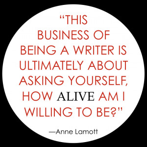 Writer Anne Lamott Quotes On Writing