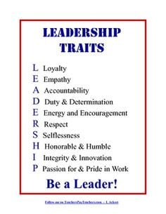 ... to inspire your students to become leaders more leadership school