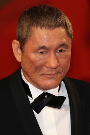 Takeshi Kitano at the Premiere of 39 Outrage 39 at Cannes Takeshi ...