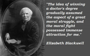 1849 --- Elizabeth Blackwell is granted a medical degree from Geneva ...